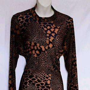Velvet mini dress backless